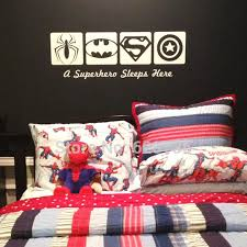 Batman Boys Bedroom Wall Sticker Spiderman Picture More Detailed Picture About Wall