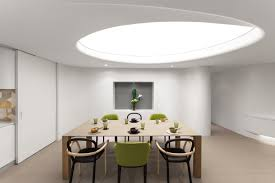 Skylight Design Unique Modern Residence With Curvilinear Walls And Artificial
