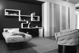 bedroom minimalist black white room painting ideas