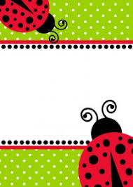 free download ladybug birthday invitation template lienky