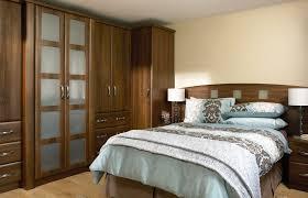 Premier Slab Wardrobe Doors In Dark Walnut By HOMESTYLE - Bedroom cupboard doors
