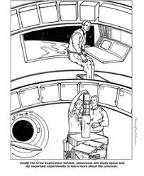 space coloring pages living and working in space gallery walk