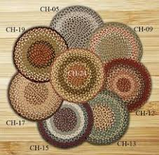 Round Burgundy Rug Round Circle Burgundy Green And Sunflower Jute Braided Earth Rug