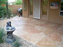 Concrete Ideas For Backyard by Patio Tile Flooring U2013 Laferida Com