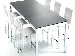table haute de cuisine avec tabouret table haute de cuisine tabouret de cuisine alinea tabouret de
