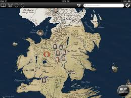 World Map Winter by Ambitious And Combative Game Of Thrones Map
