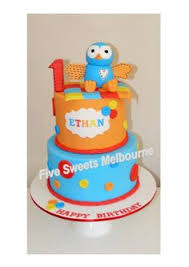 Giggle And Hoot Decorations Jake U0027s Cakes Hoot And Hootabelle Cake Topper Birthday Party