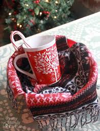 hot chocolate gift basket warm cozy chocolate gift basket diy gift link party pretty