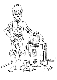 coloring starwars coloring page