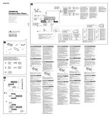 sony xplod 100db 52wx4 wiring diagram on images free at 52wx4