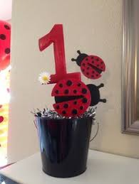 ladybug 1st birthday decorations monthly pictures banner glued