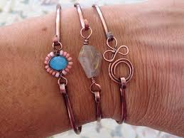 copper bead bracelet images Lisa yang 39 s jewelry blog quick copper wire focal bead bracelets jpg