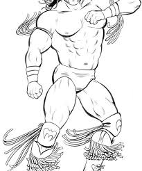 ultimate warrior coloring pages coloring beach screensavers