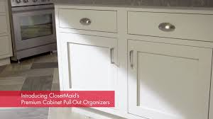 Cupboard Organizers Closetmaid 3 Tier Compact Kitchen Cabinet Pull Out Basket
