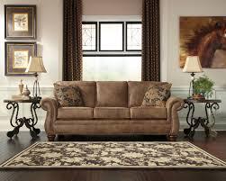 Leather Queen Sofa Bed by Elegant Ashley Larkinhurst Earth Sleeper Sofa Dream Rooms Furniture