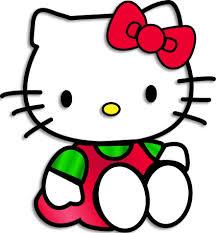 dibujos color dibujos kitty kitty