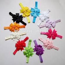 big ribbon hair bow headband diy satin ribbon big bow elastic headband hair