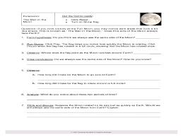 space exploration worksheets worksheets