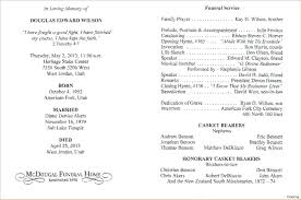 program for funeral service template template for memorial service program