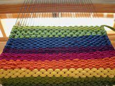 tappeti fai da te telaio tappeto corda corda fai da te mania arredare