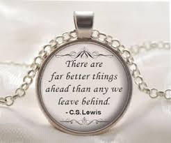 inspirational pendants cs lewis quote necklace pendant inspirational necklace silver