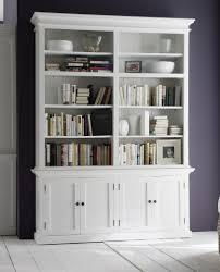 white bookcase with ladder best shower collection