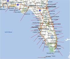 Edgewater Florida Map by Daytona Florida Map My Blog