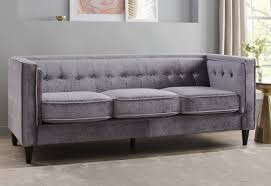 Chesterfield Sofa Linen by Willa Arlo Interiors Roberta Velvet Chesterfield Sofa U0026 Reviews