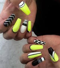 top 25 best neon yellow nails ideas on pinterest neon nails