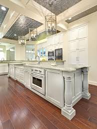 Eat In Kitchen Island Eat In Kitchen With Baking Station White Shaker Cabinets Shaker