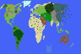 biomes map i created a map of the minecraft biomes minecraft