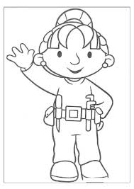 bob builder partner wendy coloring sheets party theme