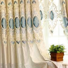 chambre haute brodé rideaux pour salon salle à manger chambre haute classe de