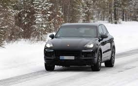 2018 porsche cayenne coupe turbo redesign car models 2017 2018