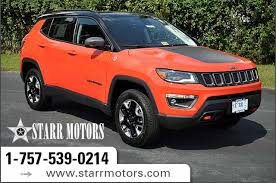 what is a jeep compass 2018 jeep compass trailhawk sport utility in suffolk j005
