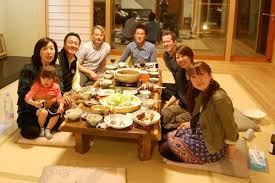 traditional japanese dinner table japanese food culture family dinner