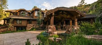 Log Cabin Luxury Homes Listing Of The Day Log Cabin In Park City Utah