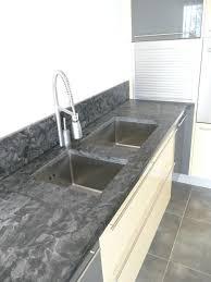 gres cerame plan de travail cuisine plan de cuisine en granit matrix azur
