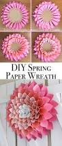 best 25 paper wreaths ideas on pinterest diy crafts step by