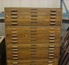 blueprint flat file cabinet 4 antique hamilton oak wood flat file cabinets map art blueprint