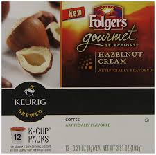 Hazelnut New Orleans Folgers Hazelnut Cream Flavored Coffee K Cup Pods For Keurig K