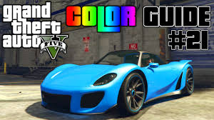 Colors Combinations Gta V Ultimate Color Guide 21 Pfister 811 Best Color