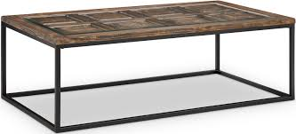 Magnussen Sofa Table by Rochester Burnished Brown Rectangular Cocktail Table From
