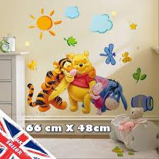 winnie the pooh wall stickers tigger animal jungle baby bedroom winnie the pooh wall stickers tigger animal jungle baby bedroom nursery decals