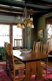 Mission Dining Room Table 237 Best Craftsman Dining Rooms Images On Pinterest Craftsman