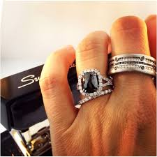 black engagement ring set best 25 black bands ideas on black band