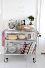 kitchen cart ideas 40 cool diy ways to get your kitchen organized diy