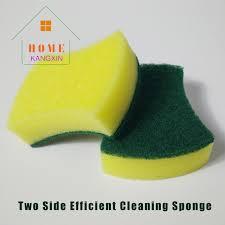 eponge cuisine promotion arc en forme de deux side utile nettoyage de la cuisine