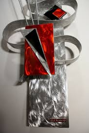 Home Decor Red Deer Wall Decoration Metal Wall Art Decor And Sculptures Within