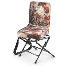 guide gear camo swivel hunting chair 593912 stools chairs
